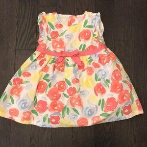 Floral print baby dress